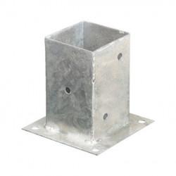 Portapilastro quadrato sezione 10x10