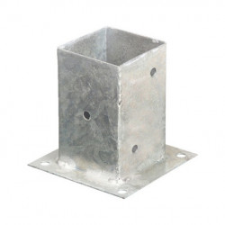 Portapilastro quadrato sezione 20x20